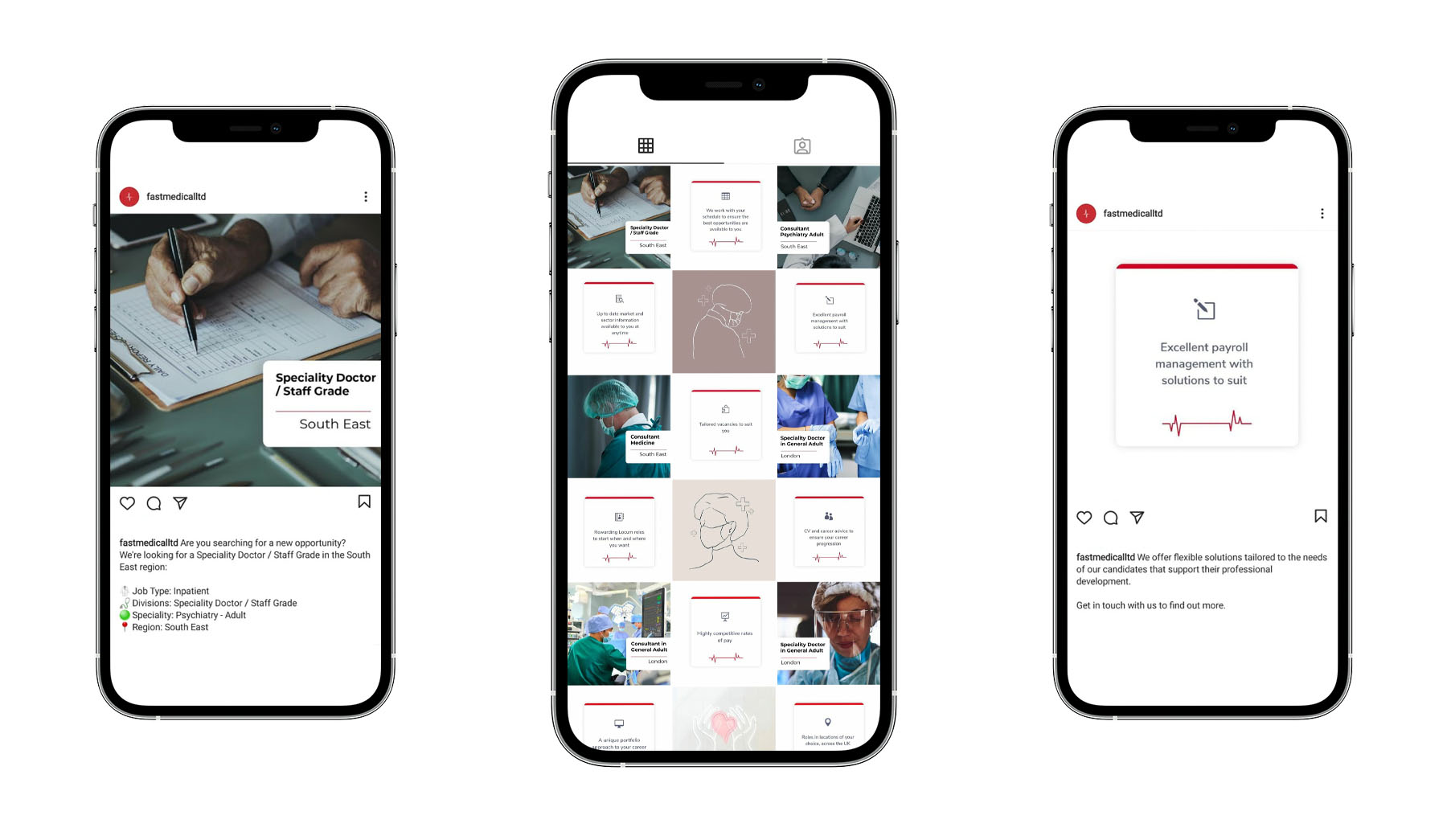 the atom lab Fast Medical social media feed instagram